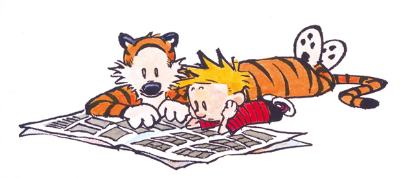 Exploring Calvin and Hobbes Excerpt